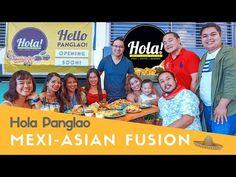 Soft Opening of Hola Mexi-Asian Fusion Cafe   Panglao, Bohol - YouTube Bohol, Philippines, Asian, Youtube, Youtubers, Youtube Movies