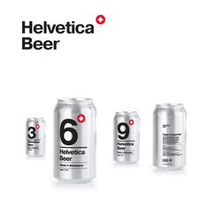 Well isn't this just a double barrel of awesomeness… Who doesn't love beer? And if you're even reading this website then there is a pretty high chance you love Helvetica too. Russian designer Sasha Kischenko has merged these two loves with quality packaging concept for a Swiss beer. Thats about all we know about the project, and with it about 30 degrees outside I could certainly murder a couple!