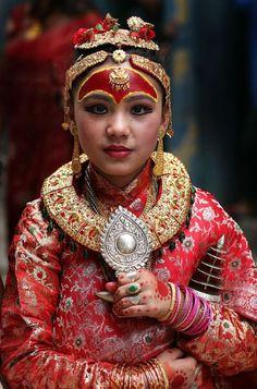 """Princess of Nepal Kingdom"". Kathmandu | ©Michal Svec"