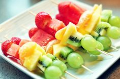 fruit kabobs- by request :)