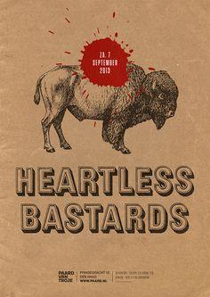 #heartlessbastards artwork by Spacebar #paardvantroje #southernrock