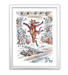 Roald Dahl's Fantastic Mr. Fox, Framed Mini Poster, 30x40cm, $21 !!