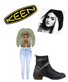"""""""So Fresh and So Keen: Contest Entry"""" by ramona-monzerrath-ramirez on Polyvore featuring Keen Footwear, Glamorous and keen"""