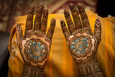 Bridal hands mehndi henna design by Neeta Sharma