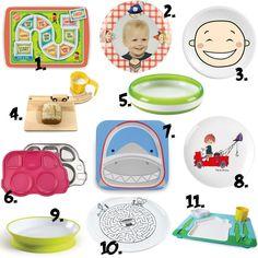 Een maaltijd met kleine kinderen kan soms grote problemen opleveren. Wees de ellende voor een koop een leuk kinderbordje voor vele dagen eetplezier.