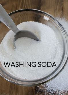 What Is The Difference Between Washing Soda And Baking