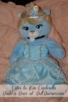 Limited Edition Disney Princess Cinderella Bear Review & Giveaway