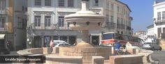 Fountain of Giraldo Square located in the amazing city of #Évora, #Portugal