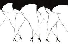 Black and white - Daria Krol Illustration