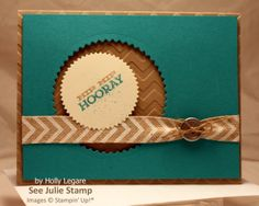 See Julie Stamp - Julie Wadlinger, Stampin' Up! Demonstrator : Swap: Cards in the Mail - by Holly Legare - Hip Notes