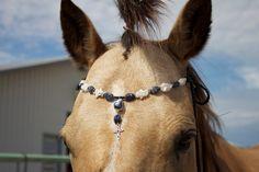 Handmade Equine Browband. $50.00, via Etsy.