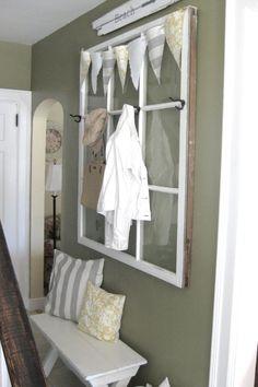 Hallway Storage  - CountryLiving.com