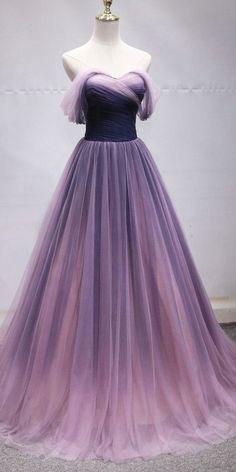Ombre Prom Dresses, Princess Prom Dresses, Pretty Prom Dresses, Prom Party Dresses, Ball Dresses, Elegant Dresses, Homecoming Dresses, Dress Party, Sexy Dresses