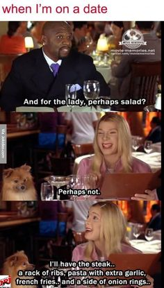 When im on a date