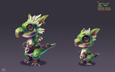 ArtStation - Goblin Dragon, Rakesh nair