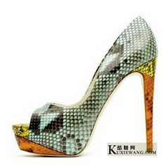 snakeskin heels. I have to have these.