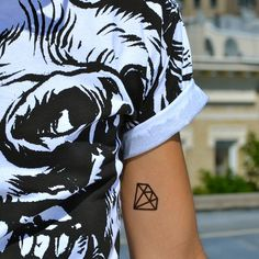 Diamond Tattoo. Because they are pure and nearly indestructible.