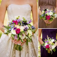 Gorgeous fall wedding bouquets. Image: Pepper Nix