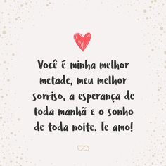 Frase de amor - minha vida está preto e branco e quem deveria colorir está Life Lyrics, I Love You, My Love, Messages, Scrapbook Albums, Love Quotes, Crushes, Lettering, Editorial