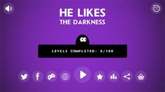 He Likes The Darkness on App Store:    Only on the App Strore  Jump on the platform don't touch on enemies! Go to the top become the leader of the world ranking! ...  Developer: Taras Kirnasovskiy  Download at http://ift.tt/1ug0Pq6