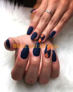 45 Stunning Fall Acrylic Nail Designs and Ideas 2019 - Fashiondioxide The acrylic nails cannot be done at home. Here are Stunning Fall Acrylic Nail Designs and Ideas for you! Fall Nail Art Designs, Acrylic Nail Designs, Nails Design Autumn, Fall Designs, Acrylic Tips, Cute Nail Designs, Gorgeous Nails, Pretty Nails, Simple Fall Nails