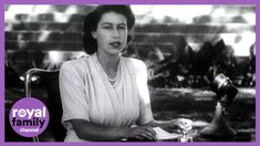On This Day: 21 April 1947 - Princess Elizabeth's Incredibly Powerful 21... Princess Elizabeth, Elizabeth Ii, Family Channel, Birthday Messages, Youtube, Birthday Msgs, Youtubers, Youtube Movies