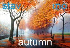Hebrew fall/ autumn - stav.