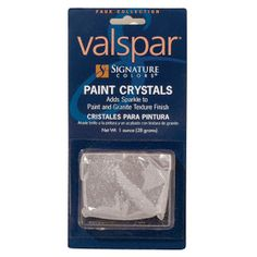 Painted Olivia's new room with adding these in the paint.  The room has a slight shimmer to it without it being overpowering!  They were 7.99 at Lowes and they will mix it in for you!