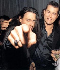 Hey you! I want you!  (Johnny & Ray Liotta)