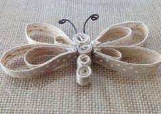 бабочка из лент своими руками