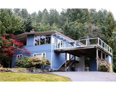 West Vancouver, Cypress Park Post and Beam House for Sale. C. 1966. Click photo for full details.
