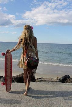 Boho Chic - Hairstyles and Beauty Tips