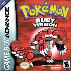 Nintendo GameBoy Advance - Pokemon Ruby