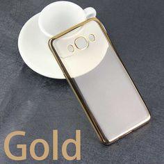 Ultra Thin Rose Gold Plating Crystal Clear Case For Samsung Galaxy J Series J1 J3 J5 J7 2016 Soft TPU Cover J510 J710 J320 Case