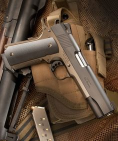 Ed Brown Special Forces Battle Bronze, 7 Round Semi Auto Handgun, ACP - Built for pure performance and extreme use, the Special Forces pistol from Ed. Colt M1911, Revolvers, Survival, 1911 Pistol, Fire Powers, Home Defense, Cool Guns, Guns And Ammo, Special Forces