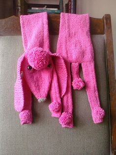 Ravelry: Pink Poodle Scarf pattern by Morehouse Designs
