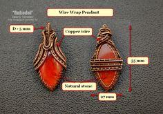 Wire Wrap Pendant. Valeriy Vorobev on Etsy