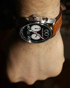 Alexander Shorokhoff Avantgarde Lefthanders Automatic Chronograph Watch Review alexander shorokoff