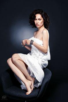 Victoria in White by Kirill Buryak on 500px
