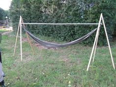 You searched for Diy Hammock Frame - This Home Designs Ideas Hot Tub Backyard, Backyard Hammock, Backyard Pool Landscaping, Backyard Camping, Backyard Patio Designs, Tropical Landscaping, Hammock Frame, Diy Hammock, Hammock Stand