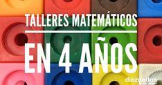 Dentro de nuestra organización matemática, presentamos los talleres para 4 años . Material Didático, Jr Art, 1, Teaching, Ideas Para, Dresses, Learning Numbers, Math Workshop, Comprehension Exercises