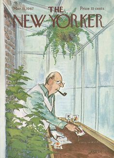 The New Yorker - Saturday, March 11, 1967 - Issue # 2195 - Vol. 43 - N° 3 - Cover by : Charles Saxon