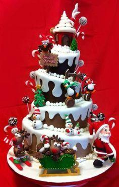 Wow christmas cake