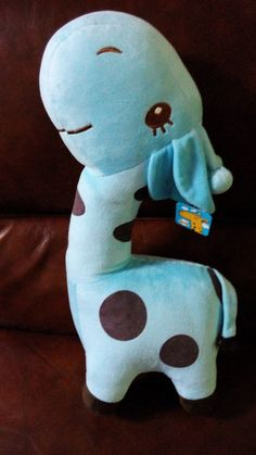 22 Inches Hot Popular New Style Bright Color Stuffed Plush Blue Deer Soft Toy #Handmade