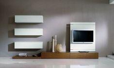 20 idées originales comment intégrer le meuble télé dans votre salon.Meubles télé originaux et ultra design pour une décoration de salon tendance.