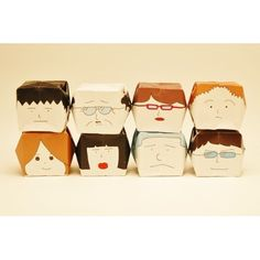 ORIGAMI CUBE ~face~