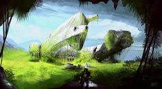 10 stunning fantasy and sci-fi landscapes