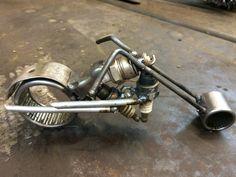 Harley Davidson Welding Art Projects, Metal Projects, Metal Crafts, Recycled Metal Art, Scrap Metal Art, Cutlery Art, Sculpture Metal, Metal Figurines, Steel Art
