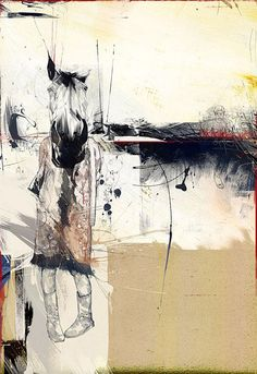 Painting, Illustration, Byroglyphics by Russ Mills