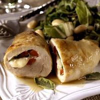 Tuscany Stuffed Chicken Breasts by BHG Beef Recipes, Vegetarian Recipes, Chicken Recipes, Healthy Recipes, Delicious Recipes, Healthy Food, Easy Dinner Recipes, Great Recipes, My Favorite Food